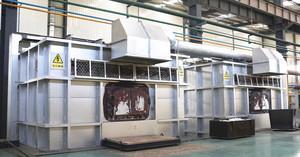 5吨电加热矩形熔铝炉